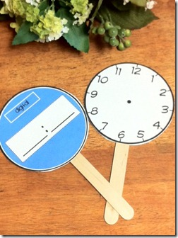 Activity 5: Time, Time, Time. - First Grade Math Work Stations